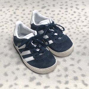 Adidas Gazelle Sneaker Toddler Suede Lace Up Shoe